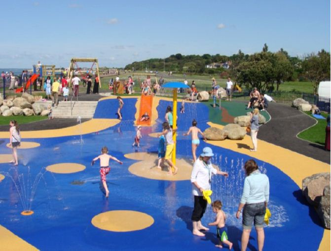 Stokes Bay Splash Park