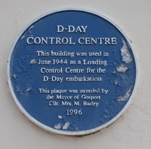 Control Centre Blue Plaque