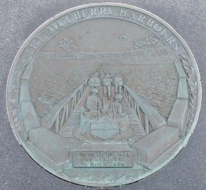D Day Memorial plaque