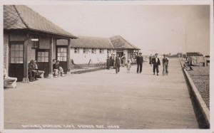 Bathing Station Stokes Bay 1939