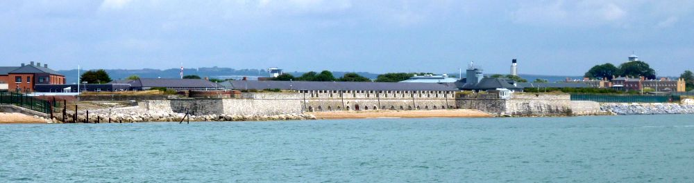 Fort Monckton from the sea