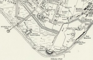 Stokes Bay map of 1931