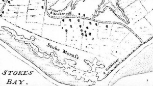 A  map of 1716