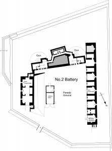 Plan of No.2 Battery