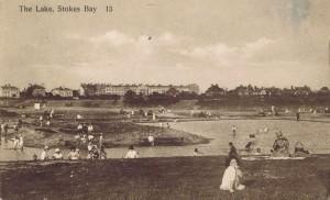Stokes Bay pool 1927