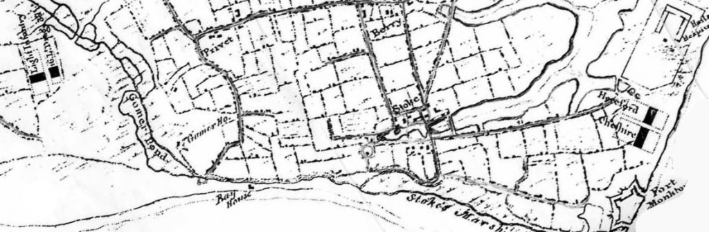 Browndown Military Camps 1782