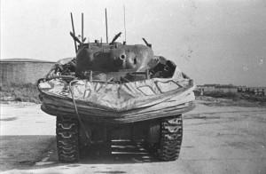 Duplex Drive Sherman Tank