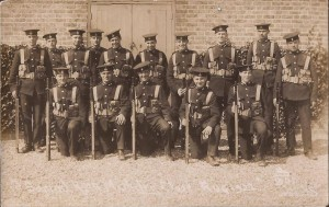 Royal Marines Musketry Class1922