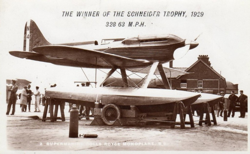 Schneider trophy winner1929