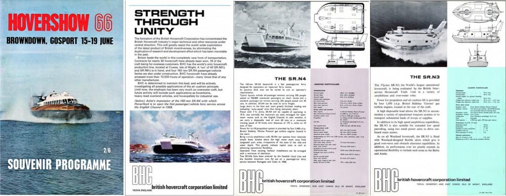 Hovershow brochure 1966