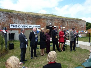 No.2 Battery Diving Museum opening