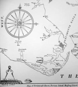 Burt's map of 1587