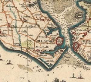 Isaac Taylor 1759 Gosport