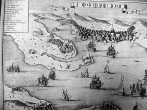 Stokes Bay map 1711