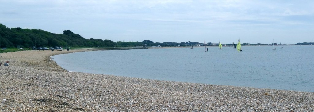 Stokes Bay Beach from the West end