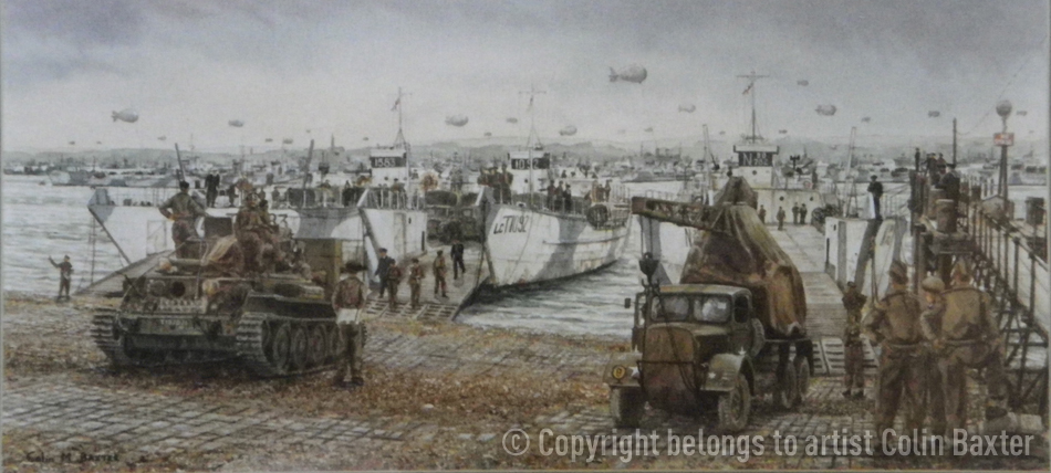Overlord preparations Stokes Bay May 1944