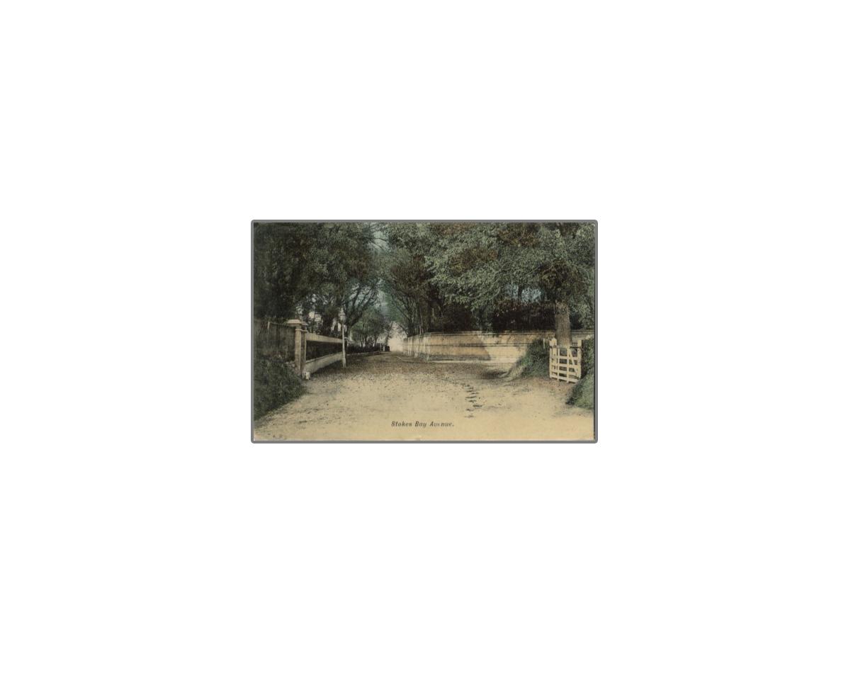 Stokes Bay avenue Gosport 1911