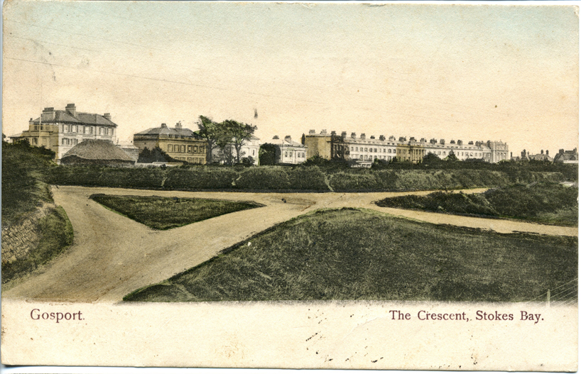 Crescent from Stokes Bay c 1905