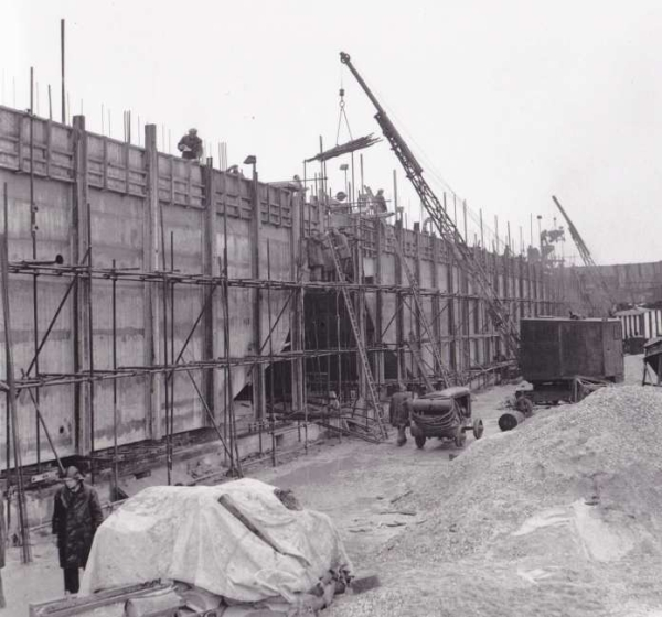 Phoenix Caissons for the Mulberry Harbours being constructed on Stokes Bay 4