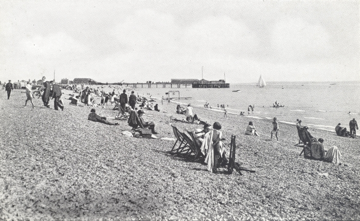 Stokes Bay Beach and Pier