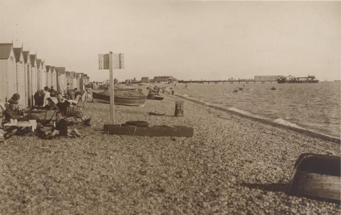 Stokes Bay Beach Huts and Pier