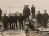 Stokes Bay 1907. Tow boats & landing ops