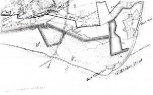Stokes Bay Map c1870