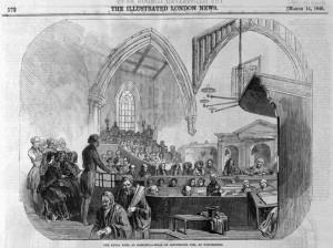 Trial of Pym illustrated London News March 14 1846