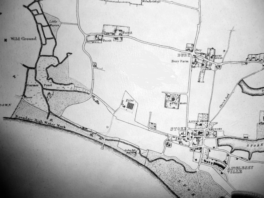 Stokes Bay area circa 1820