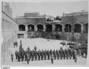 Gilkicker Garrison Artillery circa 1890
