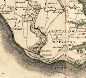 Milne's map of 1791