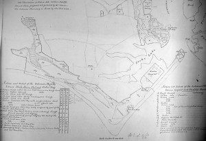 Stokes Bay map of 1832