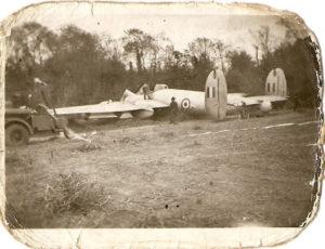 RH772 crash at Holbrook, Gosport 1953