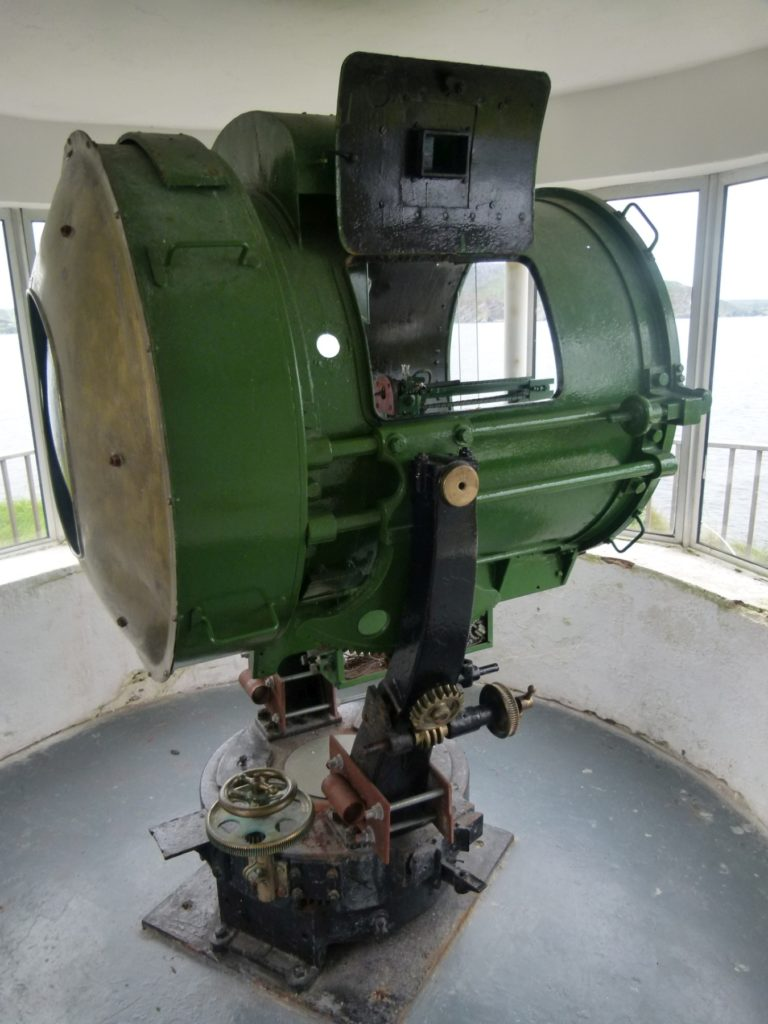 Projector at Fort Dunree, Donegal