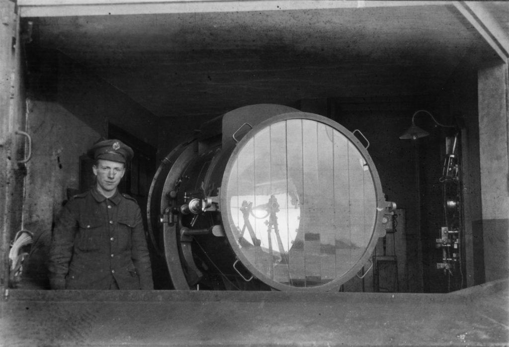 Coast Defence Searchlight